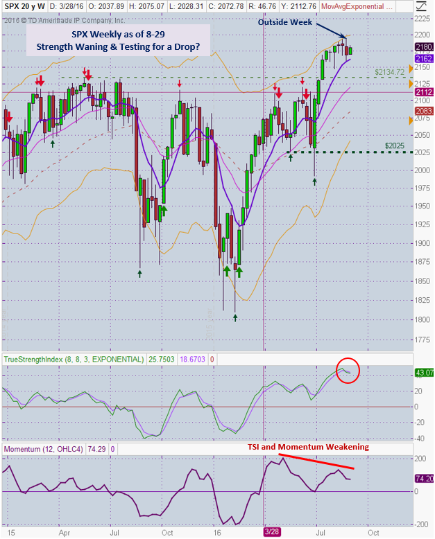 SPX Weekly 8-29